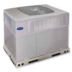 Carrier dual fuel heat pump