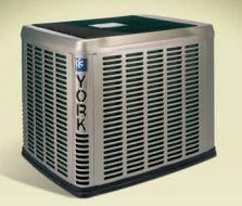 York Affinity heat pump